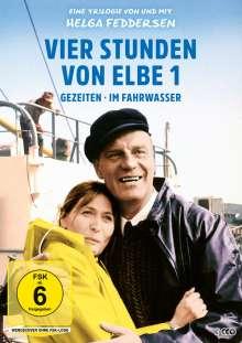 Vier Stunden von Elbe 1 - Eine Trilogie von und mit Helga Feddersen, 3 DVDs