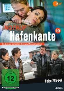 Notruf Hafenkante Vol. 19 (Folge 235-247), 4 DVDs