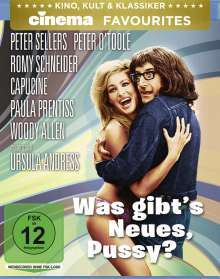 Was gibt's Neues, Pussy? (Blu-ray), Blu-ray Disc