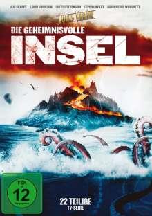Die geheimnisvolle Insel (1995) (Komplette Serie), 4 DVDs