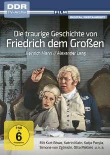 Die traurige Geschichte von Friedrich dem Großen, DVD