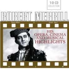 Robert Merrill - Opera, Cinema & Musical Highlights, 10 CDs
