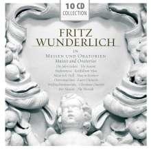 Fritz Wunderlich in Messen und Oratorien, 10 CDs