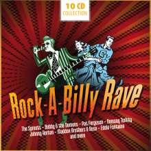 Rock-a-Billy Rave, 10 CDs