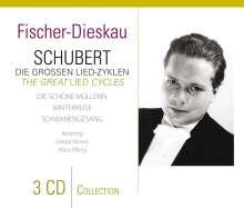 Dietrich Fischer-Dieskau - Schubert: Die großen Lied-Zyklen, 3 CDs