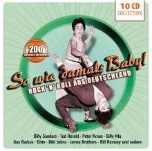 So wie damals Baby! Rock'n'Roll aus Deutschland, 10 CDs