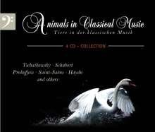 Tiere in der klassischen Musik, 4 CDs