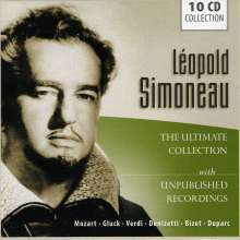 Leopold Simoneau - The Ultimate Collection, 10 CDs