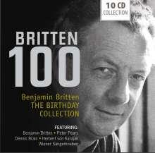 Benjamin Britten (1913-1976): Benjamin Britten - 100 (The Birthday Collection), 10 CDs