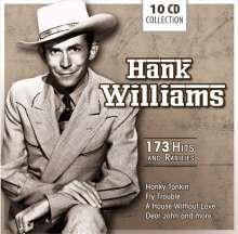 Hank Williams: 173 Hits And Rarities (Box-Set), 10 CDs
