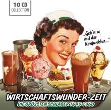 Wirtschaftswunder-Zeit (Wallet-Box), 10 CDs