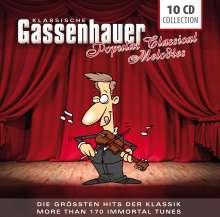 Klassische Gassenhauer - Die größten Hits der Klassik, 10 CDs