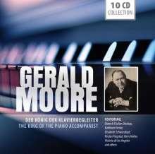 Gerald Moore - Der König der Klavierbegleiter, 10 CDs