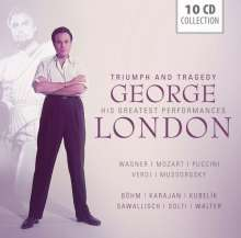 George London - Triumph and Tragedy, 10 CDs