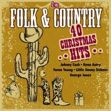 Folk & Country Christmas Hits, 2 CDs