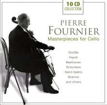 Pierre Fournier- Masterpieces for Cello, 10 CDs