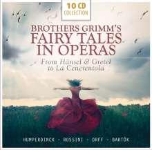 Grimms Märchen in Opern (6 Operngesamtaufnahmen), 10 CDs