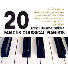 20 Große Pianisten, 20 CDs
