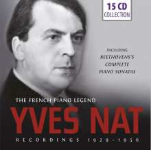 Yves Nat - The French Piano Legend, 15 CDs