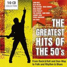 The Greatest Hits Of The 50's (Box-Set), 10 CDs