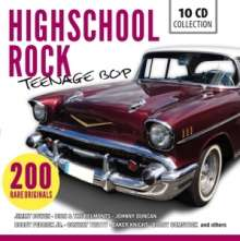 Highschool Rock - Teenage Bop, 10 CDs