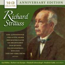 Richard Strauss (1864-1949): Richard Strauss - Anniversary Edition, 10 CDs