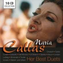 Maria Callas - Her Best Duets, 10 CDs