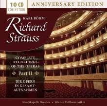Richard Strauss (1864-1949): Karl Böhm dirigiert Opern von Richard Strauss (Gesamtaufnahmen) Vol.2, 10 CDs