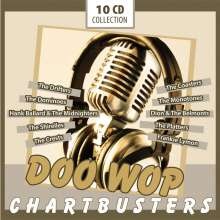 Doo Wop Chartbusters (Box-Set), 10 CDs