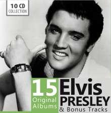 Elvis Presley (1935-1977): 15 Original Albums & Bonus Tracks, 10 CDs