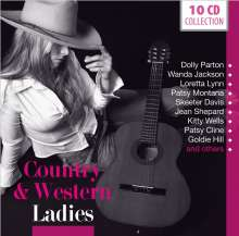 Country & Western: Ladies (Wallet-Box), 10 CDs