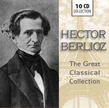 Hector Berlioz (1803-1869): The Great Classical Collection, 10 CDs