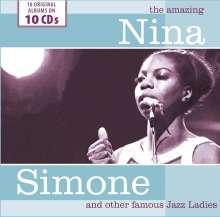 The Amazing Nina Simone And Other Famous Jazz Ladies, 10 CDs