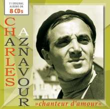 Charles Aznavour (1924-2018): Chanteur D'Amour, 8 CDs