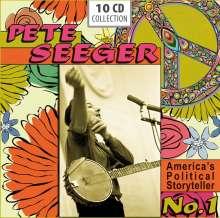 Pete Seeger: America's Political Storyteller No. 1, 10 CDs