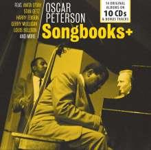 Oscar Peterson (1925-2007): Songbooks +: 14 Original Albums + Bonus-Tracks, 10 CDs