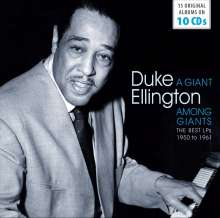 Duke Ellington (1899-1974): A Giant Among Giants: The Best LPs From 1950 To 1961 (Wallet-Box), 10 CDs