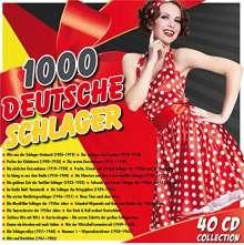 1000 deutsche Schlager, 40 CDs