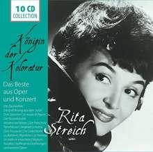 Rita Streich - Königin der Koloratur, 10 CDs