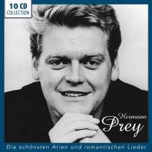 Hermann Prey - Die schönsten Arien und romantischen Lieder, 10 CDs