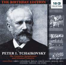 Peter Iljitsch Tschaikowsky (1840-1893): The Birthday Edition, 10 CDs