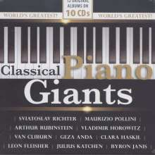 Classical Piano Giants, 10 CDs