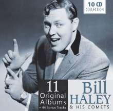 Bill Haley: 11 Original Albums & Bonus Tracks, 10 CDs