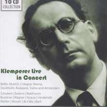 Otto Klemperer Live in Concert, 10 CDs