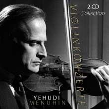Yehudi Menuhin - Violinkonzerte, 2 CDs