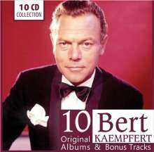 Bert Kaempfert (1923-1980): 10 Original Albums & Bonus Tracks, 10 CDs