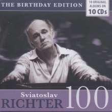 Svjatoslav Richter - The Birthday Edition, 10 CDs