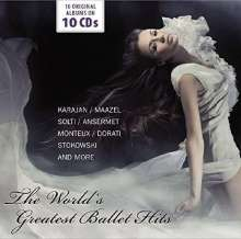 World's Greatest Hits of Ballet, 10 CDs