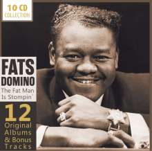 Fats Domino: The Fat Man Is Stompin' - 12 Original Albums & Bonus Tracks, 10 CDs