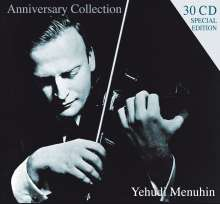 Yehudi Menuhin - Anniversary Collection, 30 CDs